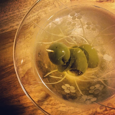 Jalapeno Dirty Martini | TheEconomicalEater.com