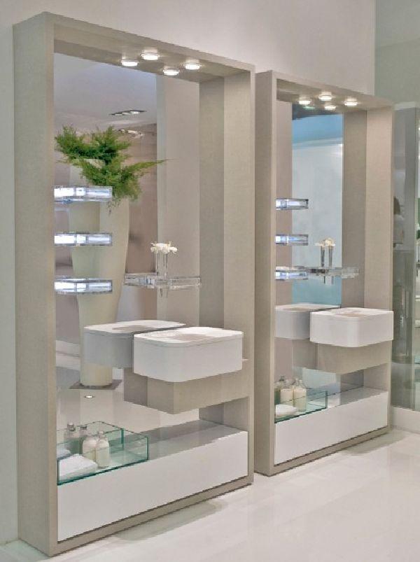Espelhos Para Banheiro Ideias Decora O Mobili Rio