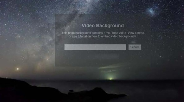 HOW TO USE ANY YOU TUBE VIDEO AS YOUR PAGE BACKGROUND