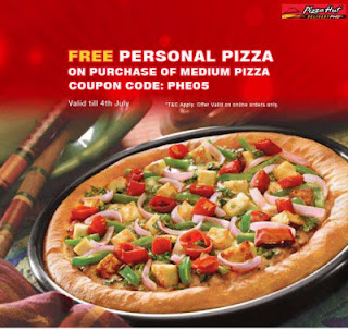 free pizza from pizza hut