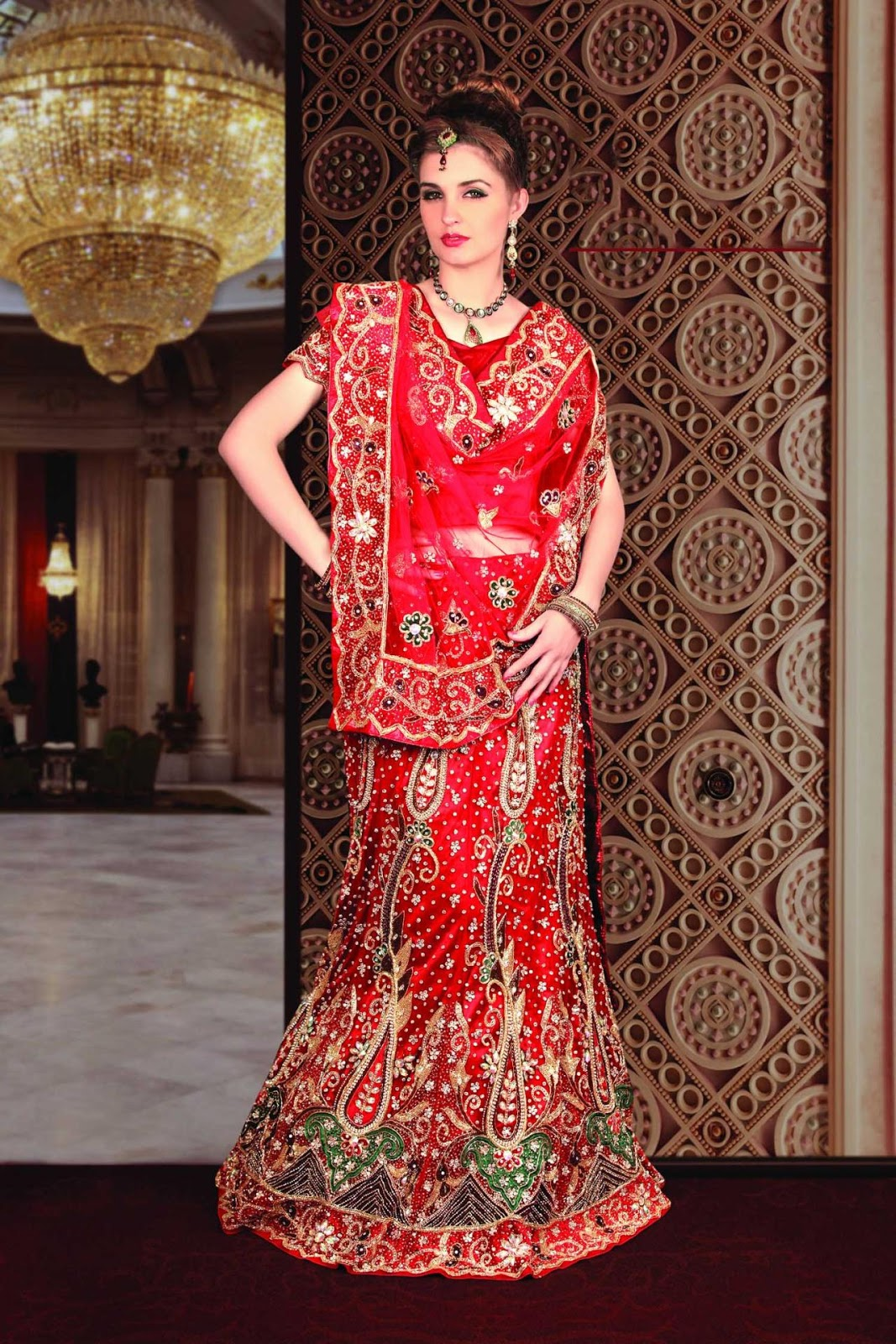 About marriage indian marriage dresses 2013 indian for Punjabi wedding dresses online