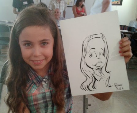 Animation caricature Montpellier