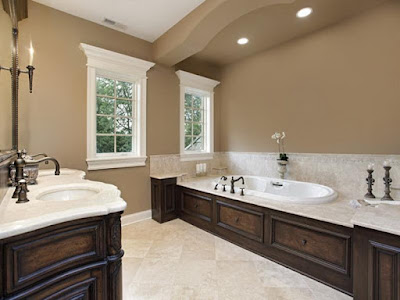 popular classic bathroom with neutral colors