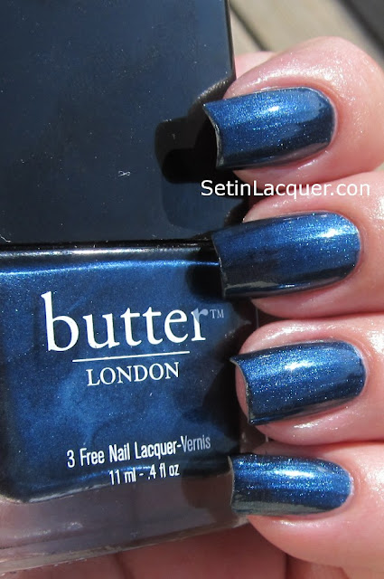 Butter London Big Smoke in sunlight