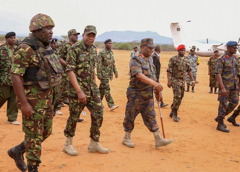 President UHURU KENYATTA wears military uniform – RAILA ODINGA ...