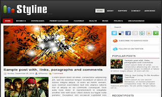 Styline Blogger Template