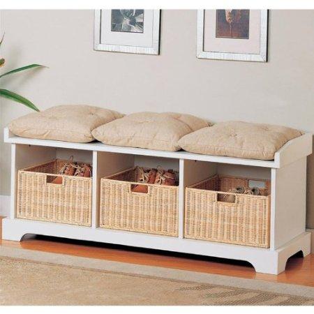 White Outdoor Storage Bench Outdoor Patio Storage Bench
