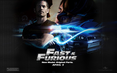 Paul Walker Fast and Furious 6 Movie Wallpaper 2013