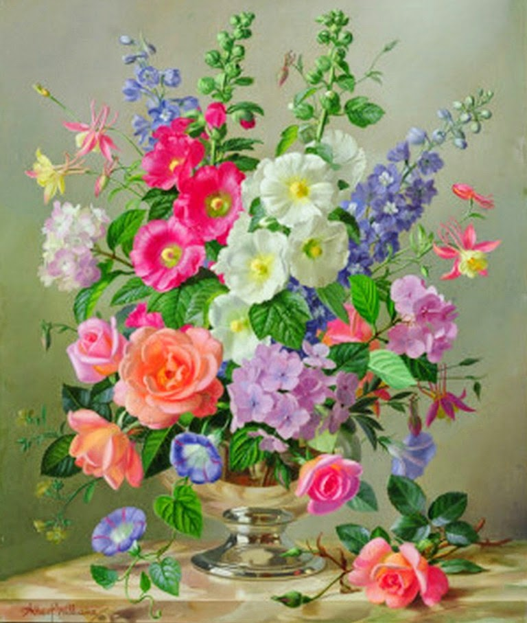 imagenes-oleo-de-flores