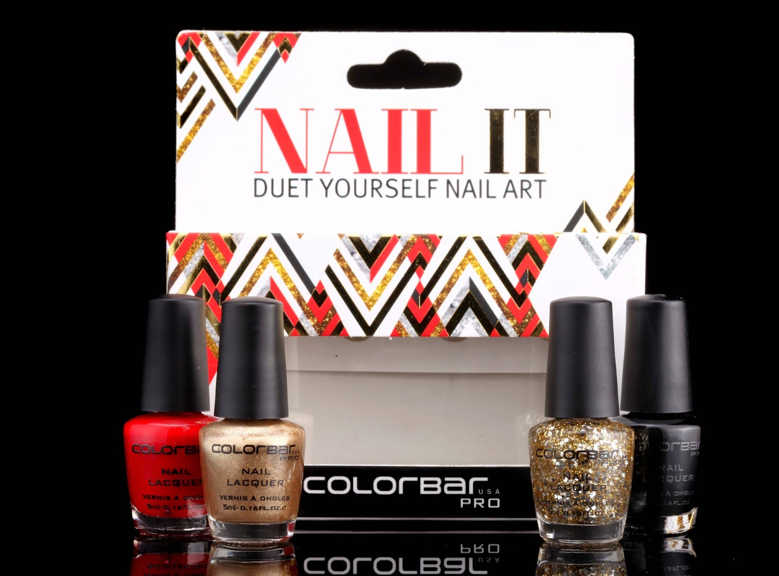 Fomo fashion on my own new colorbar launches nail it duet indulge in a one night stand with your colorful self as you gloss over your nails with colorbars unique new nail art kits solutioingenieria Choice Image