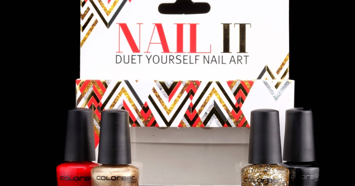 Fomo fashion on my own new colorbar launches nail it duet colorbar launches nail it duet yourself nail art solutioingenieria Image collections