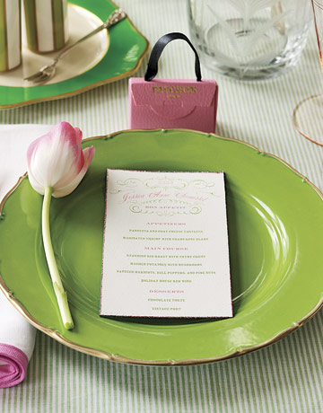 Spring Tulip Bridal Shower