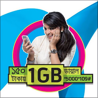 GP 1GB 150Tk+ VAT (178Tk) Package New Offer