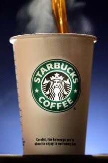 Free coffee from Starbucks, from 10-9 to 10-11 2013