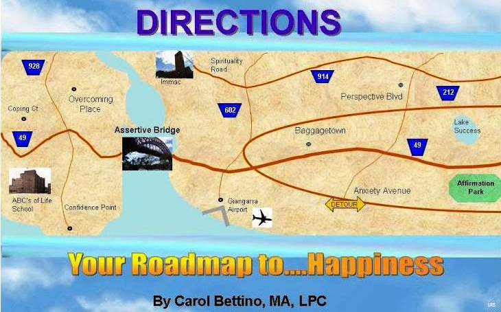 directions your roadmap to happiness