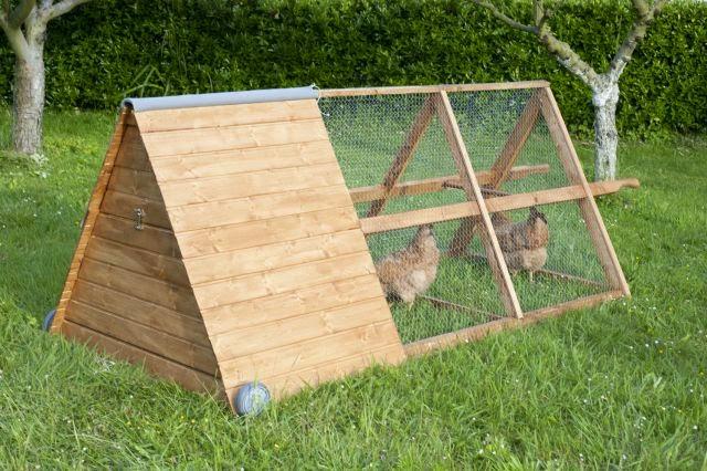 Chicken coop designs free chicken coops for Maintenance free chicken coop