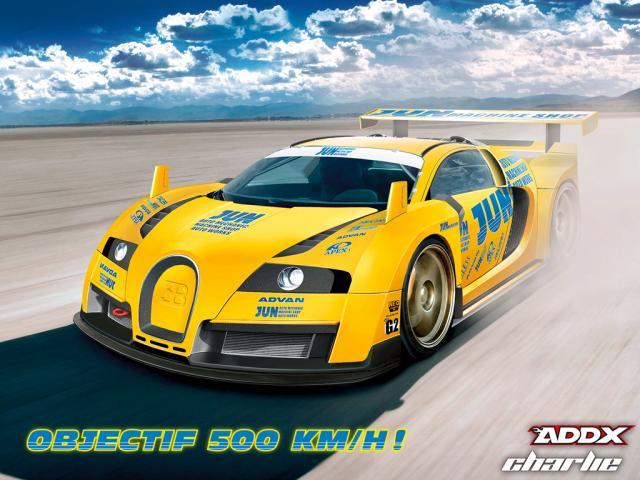 Bugatti Veyron Tuning 8/8 l'expression de la vitesse