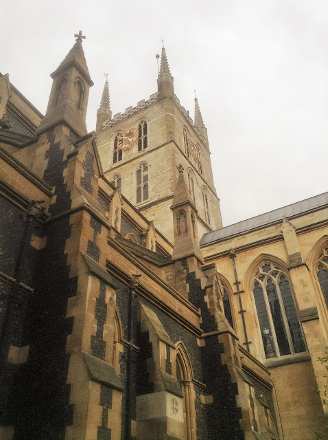 Southwark Cathedral, London photo by modern bric a brac
