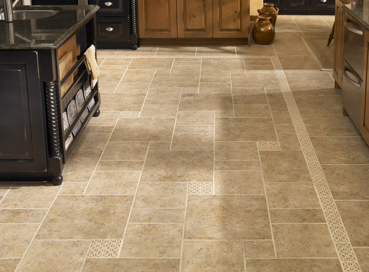 Stoneimpressions blog beautiful decorative listellos and for Beautiful kitchen floors