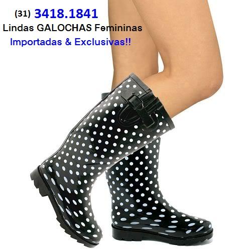 9602c2b81d5 (31) 3418.1841 - GALOCHAS Femininas ONLINE e CAPAS de CHUVA Coloridas  IMPORTADAS!!