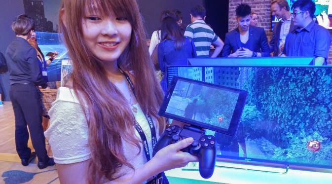 Main PS4 Tanpa TV di Xperia Z3