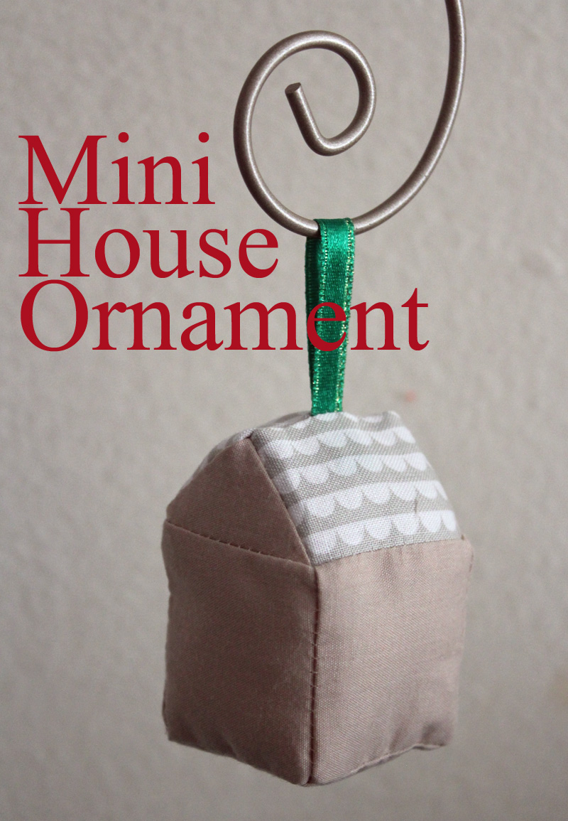 #NUO2012 @craftmoore Mini House Ornament