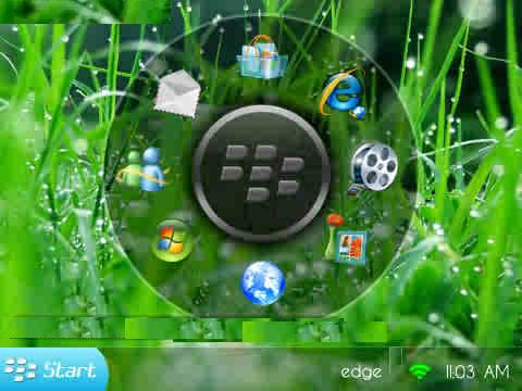 Tema Windows 7 For Blackberry