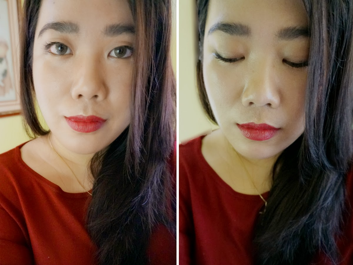 Colour Collection HD Lipstick in Cinnamon Red