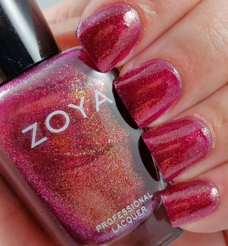 zoya teigen, a pink nail polish