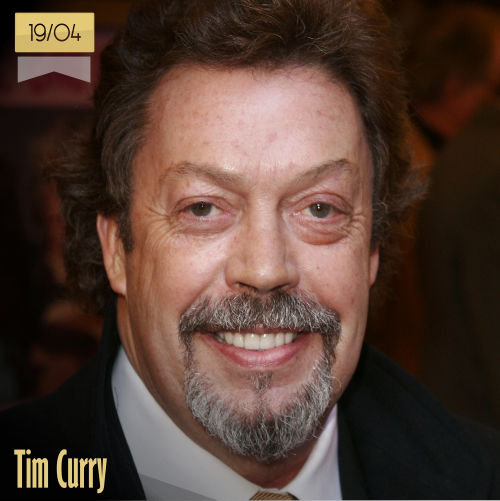19 de abril | Tim Curry - @TimCurryNews | Info + vídeos