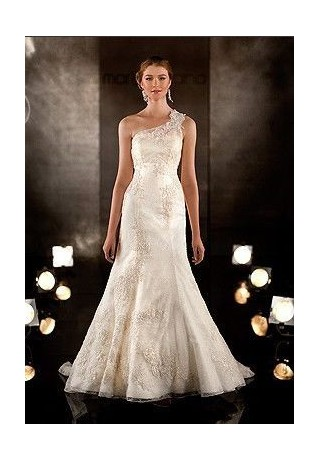 organza-and-lace-one-shoulder-a-line-convertible-wedding-dress