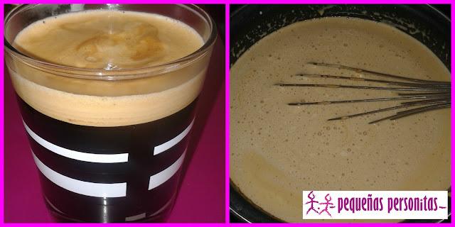 recetas, flan de cafe, flan, alimentacion, flan royal, nata para montar, cafe nespresso, postres