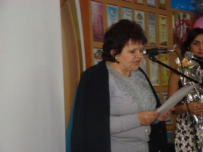 Привітання директора ЗОШ №20 м. Миколаєва Вакаляр Олени Вікторівни.