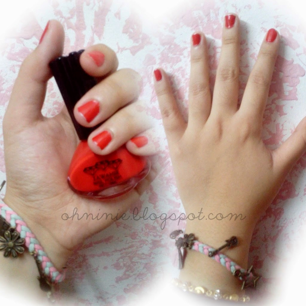 Oh Ninie Review Peelable Nail Polish Jawahir