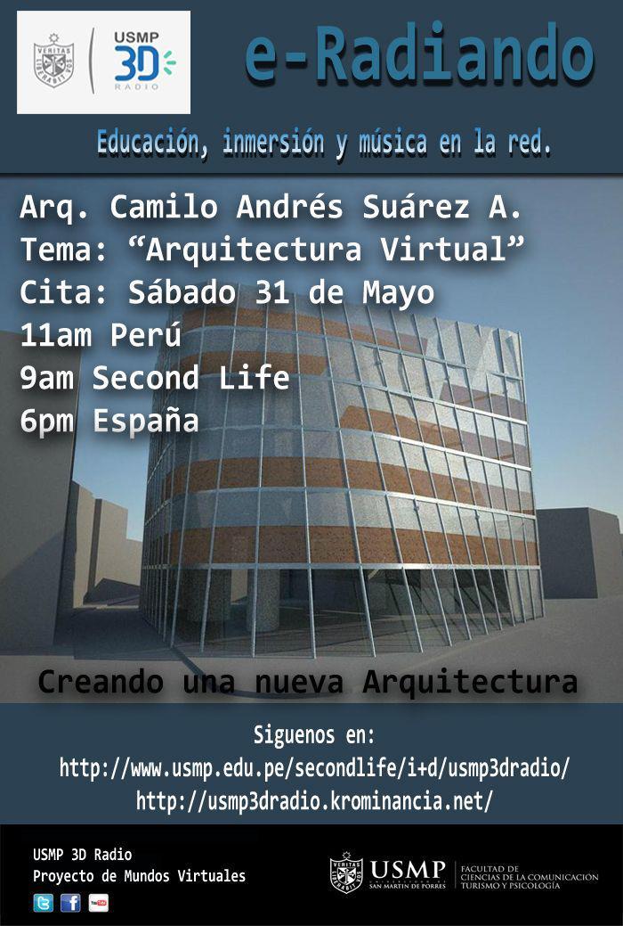 Arquitectura virtual entrevista en la radio de la for Arquitectura virtual