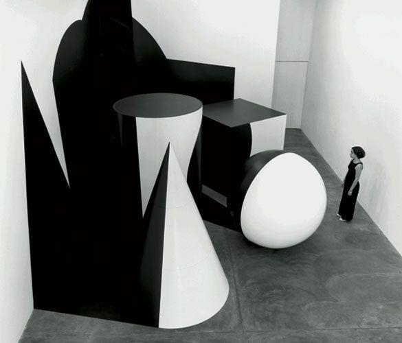 regina silveira instalações anamórficas ilusão de ótica