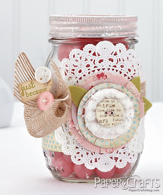 Shabby Chic Mason Jar Melissa Phillips
