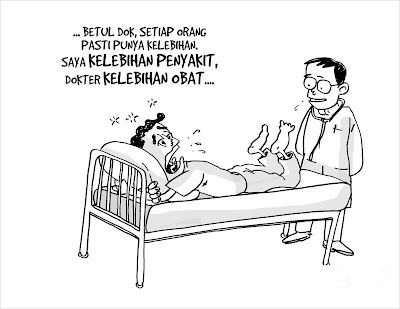 Pasien Kaya Penyakit, Dokter Kaya Obat