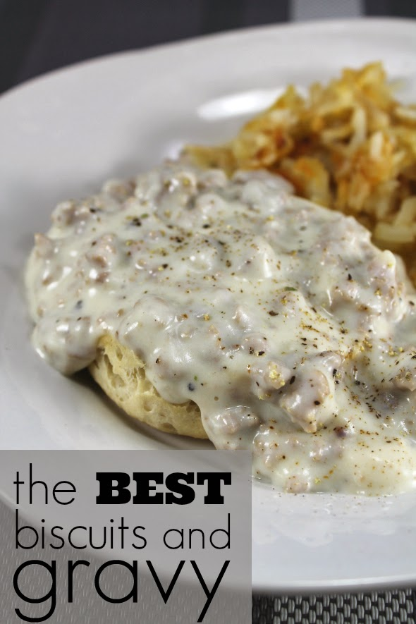 The Best Biscuits and Gravy, Ever - Make the gravy in the same pan you ...