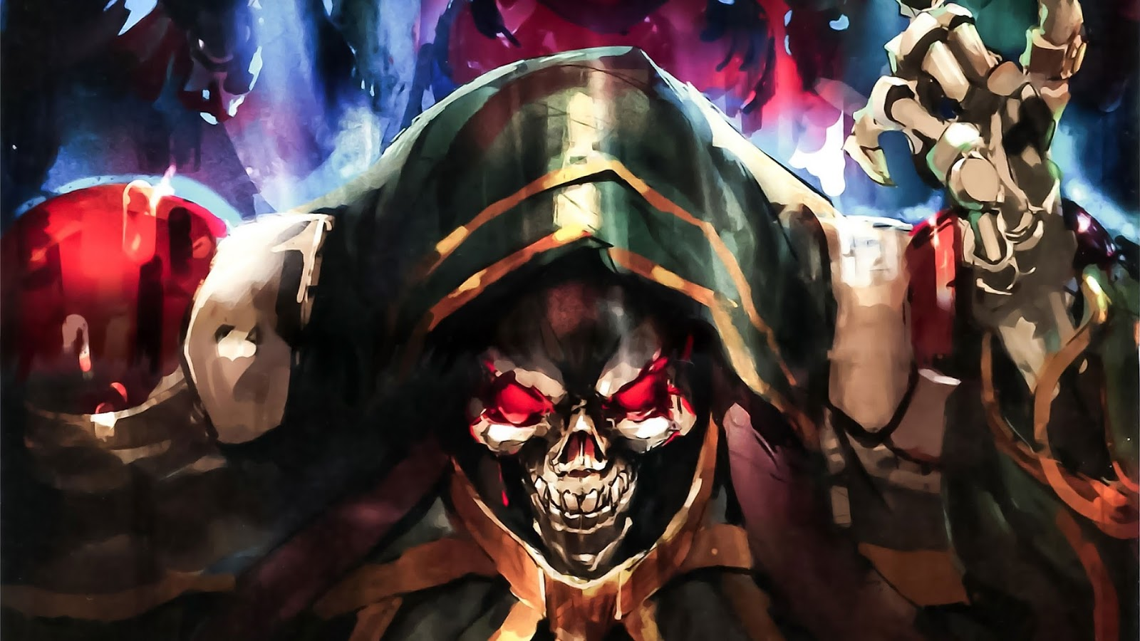 Overlord Anime Wallpaper 1920×1080