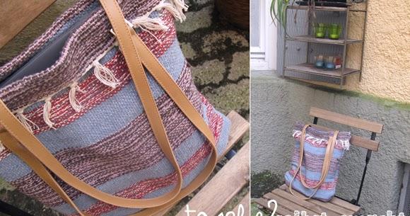 Alessas Blog [diy] Teppich → Tasche