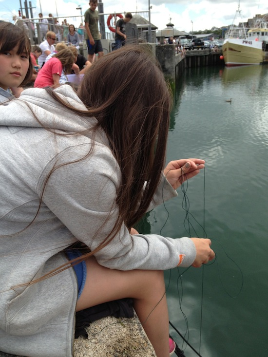 Crabbing at Padstow