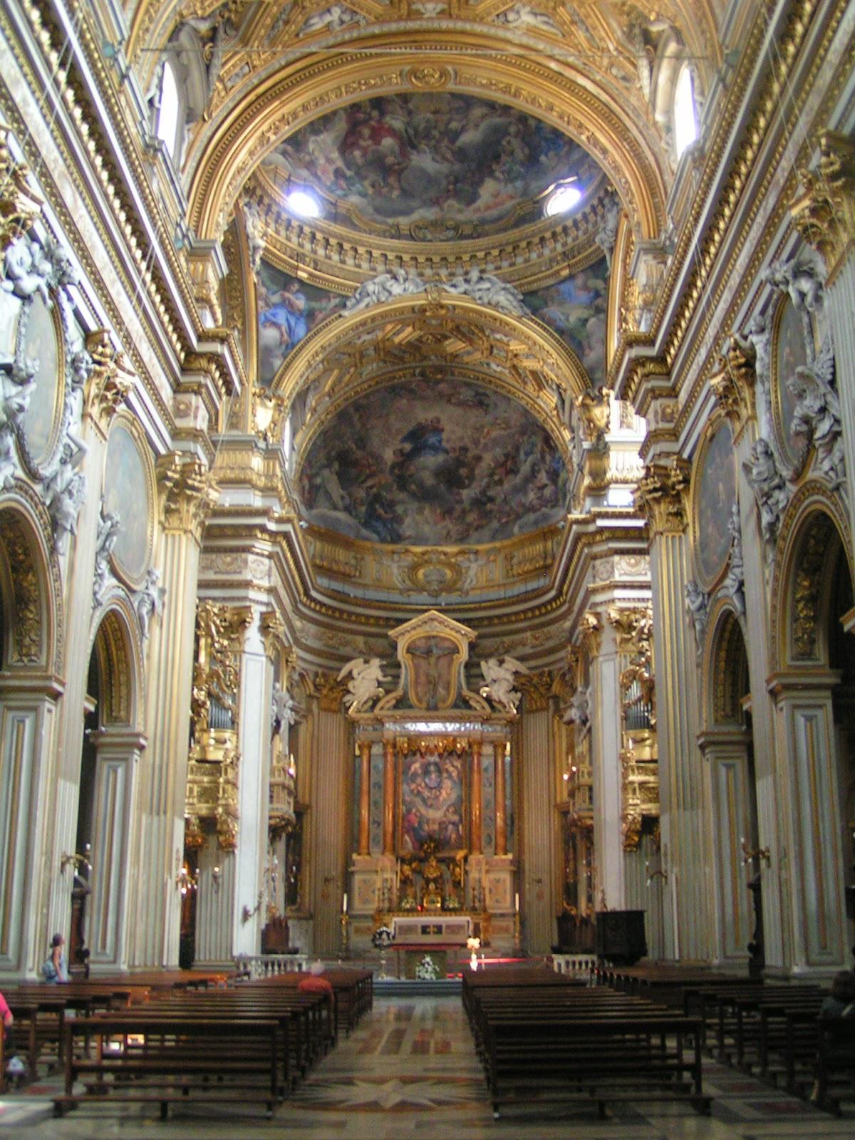 Go with the flo design history baroque rococo period for Churches of baroque period