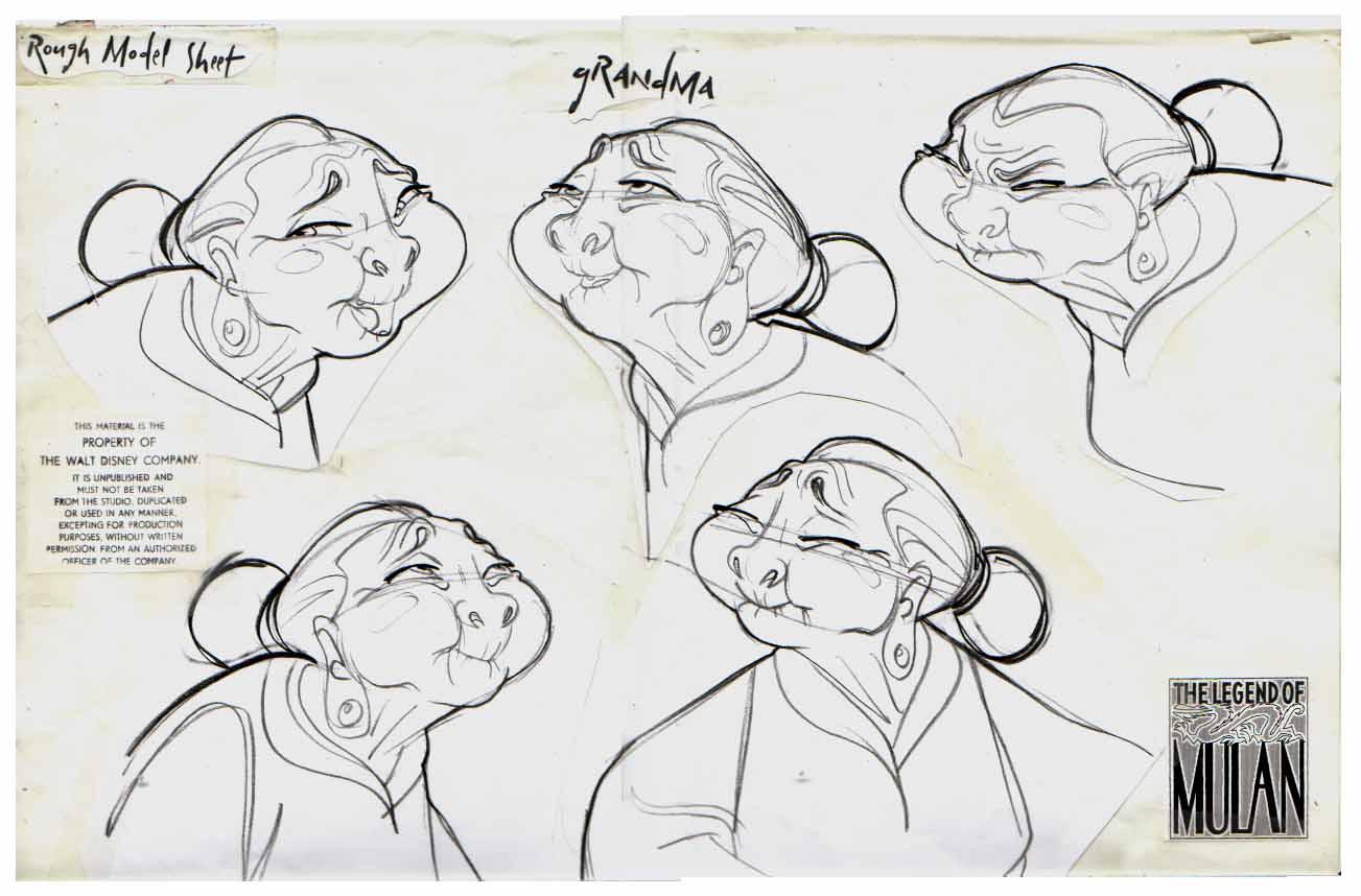 Character Design Study : Art by boris maras website http