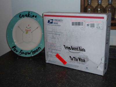 My Secret Santa parcel has arrived!