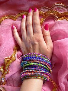 Bollywood- braccialetti 8-13 da KCs.