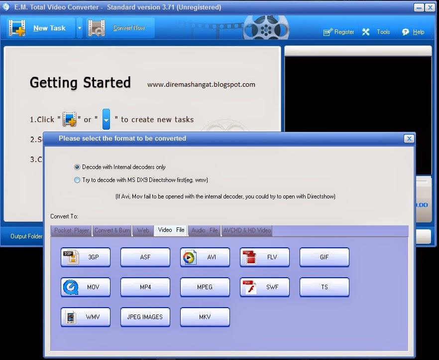 SOftware download total vodeo converter tebaru