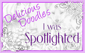 I was SPOTLIGHTED at Delicious Doodles.