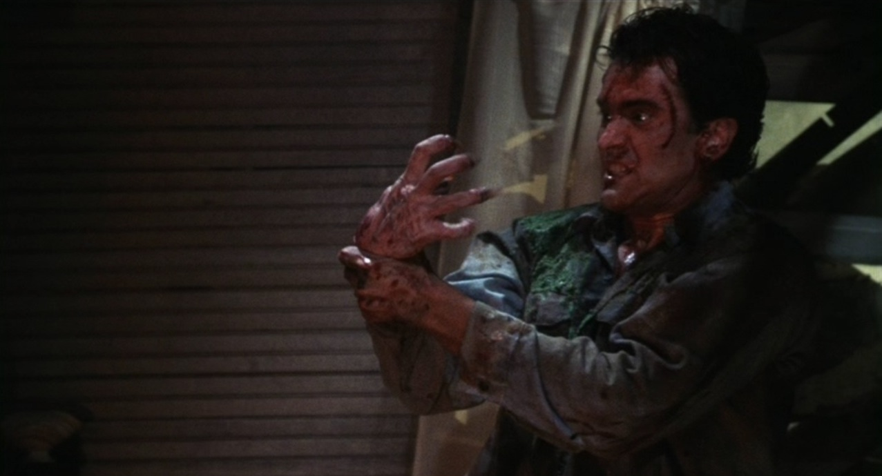 Evil Dead 2013 Chainsaw Hand Evil dead? half of you is