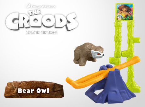 The Croods Red Bear Owl